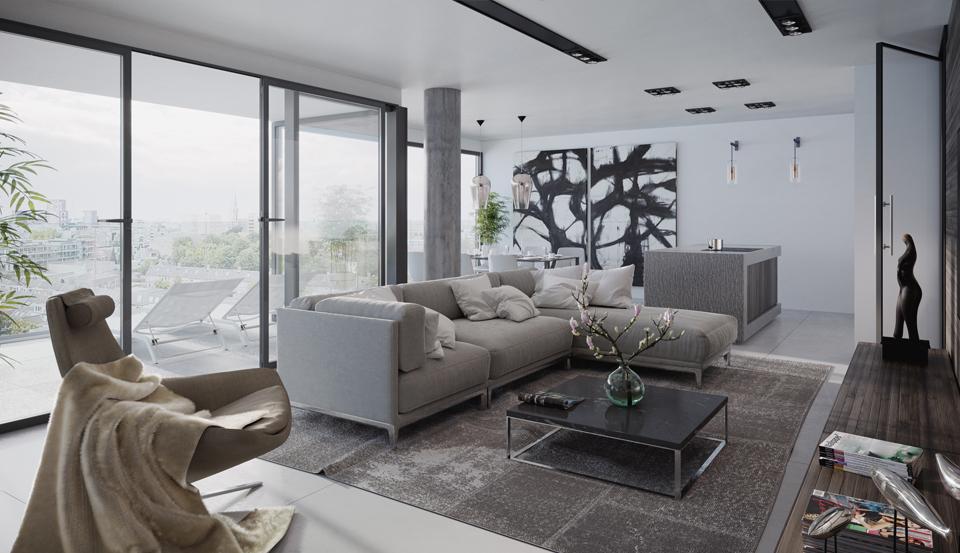 6 appartementen tot 130 m2